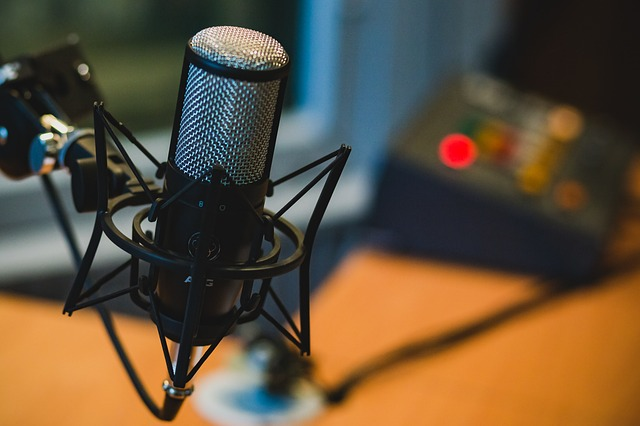 generic image of a microphone